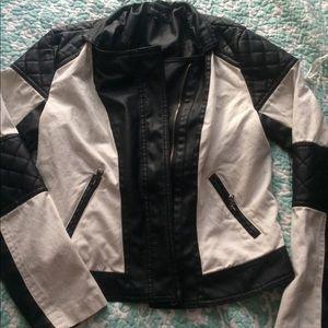 B&w Moto jacket